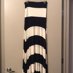 4 in 1 Striped Maxi Dress